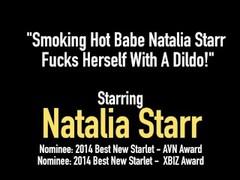 Smoking Hot Babe Natalia Starr Fucks Herself With A Dildo! Thumb