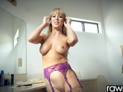 RawAttack - Cherie DeVille fucking a monster cock, big booty & big boobs Thumb