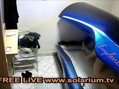 Solarium Cam Blond Milf Public Voyeur solariumcam Free on www.solarium.tv Thumb