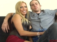 Sexy wife Cassie Young fucked with cuckold husband watching Thumb