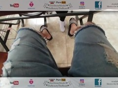 White Socks Fetish BJ Fuck & Cum Dining Table Sponsored By Shnork99 Thumb