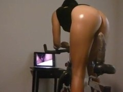 Dildo bicycle rider whore Wife can't get enough BBC Thumb