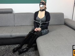 Bondage Escape Challenge Level IMPOSSIBLE - Bexxy in Cruel Bondage Torture Thumb