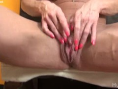 Female Bodybuilder Porn Star Masturbates Her Huge Clit Thumb