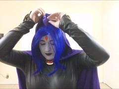 Raven Sucks On A Juicy Cock ( Teen Titans Cosplay ) Thumb