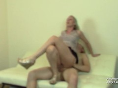 Cuckolding Girlfriend After Catching Her Riding Cock at Party Thumb