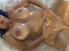 Oiled Tits POV Toy Fuck Masturbation Thumb
