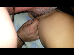 Real milf - hot amateur greek wife shared by his husband and his friend Thumb