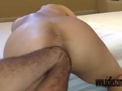 Double anal fisting amateur slut Maria Thumb