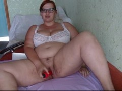 Dildo solo ,Blowjob and Doggystyle from my hot chubby wife. Thumb