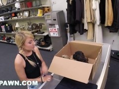 XXX PAWN - Things Get Weird When Valerie White Brings Puppies Into Our Shop Thumb