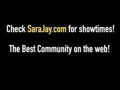 PAWG Milf Sara Jay Gets NailJob & FuckJob By Asian Keni ! Thumb