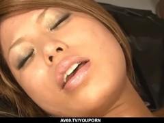 Aiki Kurosawa shows naked and dealing two dicks on cam - More at 69avs.com Thumb