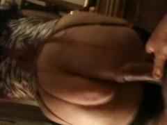 Dresser Fucking My Milfy Thumb