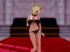 MMD HIROTAKU_ Princess Bowsette Dance of the Tail Thumb
