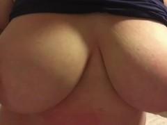 Tinder Girl is Stacked! Huge Natural Boobs TitFuck! Big Tits Make Me Moan!! Thumb