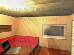 Balias trample in ballarina socks 1 POV Version Thumb
