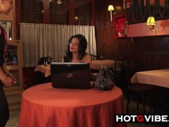 Oriental Spanish Babe Cafe Gspot Squirt Thumb