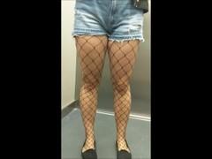 I fuck and cum inside my tinder date in fishnet stockings - eroyamka Thumb