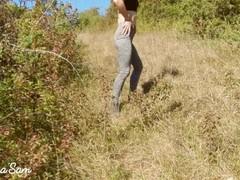 Jolie Copine se fait Baiser dans un Lieu Public - Amateur Couple Sara'Sam Thumb