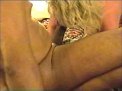 Interracial mature wife with two black guys Thumb