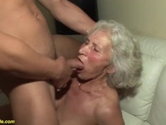 granny in her first porn video Thumb