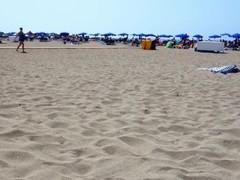Notgeil am Strand in Spanien - Public im Urlaub Schnuggie91 Thumb