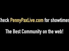 Redhead Penny Pax & Adriana Chechik Get A Slutty Cum Snack! Thumb