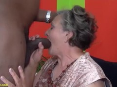 80 years old granny first interracial Thumb