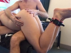 Getting Fucked By a Daddy Thumb