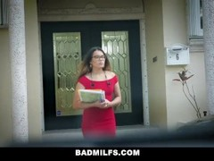 BadMILFS - Boss Fucks Employee and Her Boyfriend Thumb