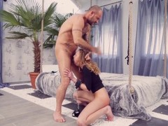 Brunette big tits babe Amy Reid fucked hard by Erik Evehard Thumb
