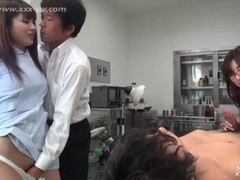 Fantastic Japanese doctor's office fuck uncensored Thumb