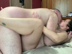 Married Couple Private Sex Tape - Eating Pussy and Fucking - Real Homemade Thumb