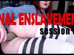 ANAL ENSLAVEMENT lesson2- Prostate Milking Dildo Hero Pspot Orgasm Training Thumb