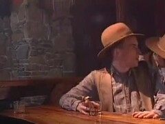 Kinky saloon orgy with cowboys and lingerie sluts Thumb