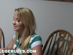 COLLEGE RULES - Dorm Party With Lexi Kartel, Melody Jordan, Natalia Robles Thumb