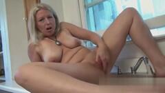 Kajsa Ollongren fingering her sel Thumb