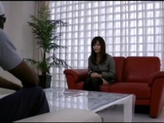 BBC Haruki Sato Japanese Woman Threesome Sex Monster Penis 40cm African Man Thumb