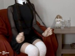 WEDNESDAY ADDAMS PLAYS ADULT GAMES WITH BROTHER - SEXY YUM YUMS Thumb