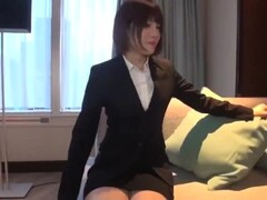 Japanese wife rides and gets creampie Thumb