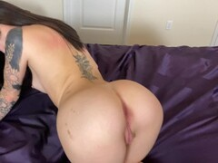 Petite Cutie with Fat Ass Takes Boyfriend's BBC Thumb