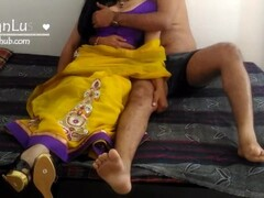 Indian Hindi Bhabhi In Saree Mast Chudai With Devar Thumb